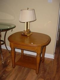 One of the various side and end tables