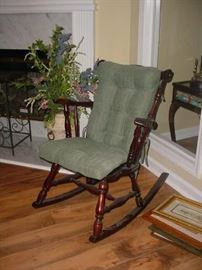 "Nice old ""granny"" rocker"