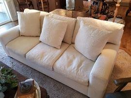 Gorgeous cream sofa