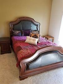 Glamorous queen bedroom