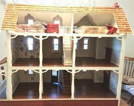 Lovingly hand made doll house