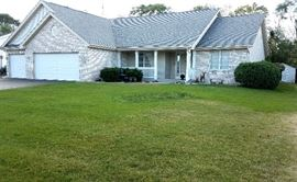 Well built home has many upgrades throughout, a sun room, under ground sprinkling system etc. and will be for sales
