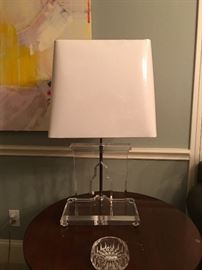 Acrylic Lamp (pair)