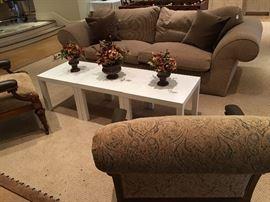Kreiss  down-stuffed sofa