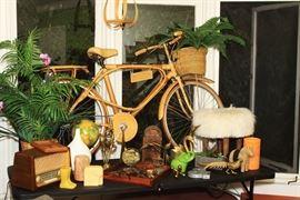 Vintage Bamboo bicycle, Vietnamese