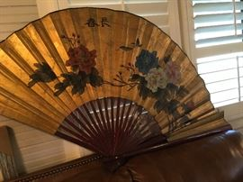 Large decorative fan