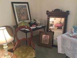Eastlake mirror Victorian furniture