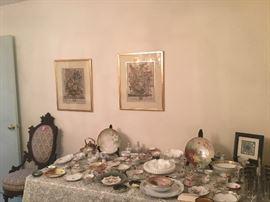 Porcelain, Nippon, glass, art