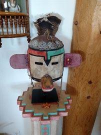 "Hopi Mask ""Hano Mana"", circa 1930"