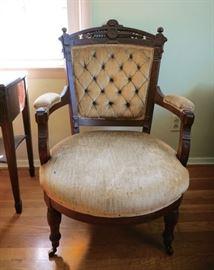Victoria Arm Chair (original fabric)