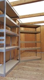 There are many varieties of utility shelving to choose from!