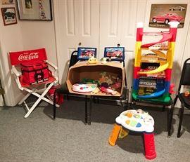 Coca Cola Collectibles and Vintage Toys