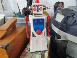 Mystery Moon Man Robot