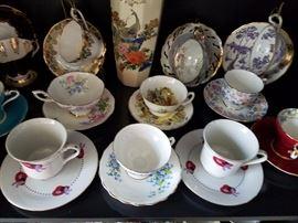 Sampling of Teacup Collection