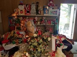 Indoor Outdoor Christmas (stationary, moving, lighted)