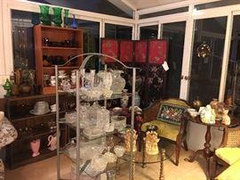 Glassware room