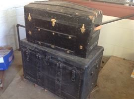 Great Old trunks