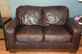 Leather Loveseat From Ashley Furniture