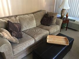 Beautiful sofa/sleeper by Jonathan Louis!  Like new condition.