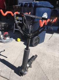 Heavy duty bike rack