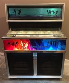 Seeburg Jukebox - Loaded w/ 45's...Has 33rpm Capability As Well