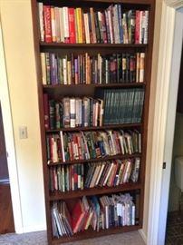 BOOKS AND SHELF