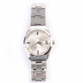 Rolex Tudor Prince Oysterdate Stainless Steel Wristwatch: A Rolex stainless steel Tudor Prince Oyster date wristwatch with a round case, smooth bezel and a self winding rotor.