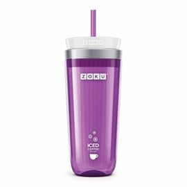 Zoku Purple Iced Coffee Maker, Travel Mug