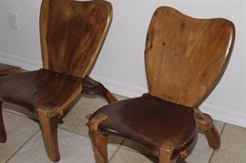 Don Shoemaker Cocobolo Lounge Chairs