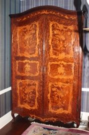 18th Century Chineroserie with Fabulous Marquetry