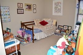 Douglasville Estate Sale by Atlanta Estate Sale Companies- Twin Size Bed with Trundle