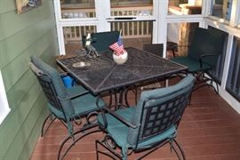 Metal Patio Set- Douglasville Estate Sale by Atlanta Estate Sale Companies