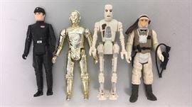 1980's Star Wars Action Figures