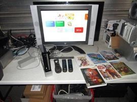 Wii Console Gaming Lot