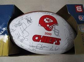 2000 KC Chiefs Football