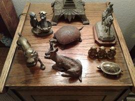Antique GERMAN WIND-UP MECHANICAL Brass Turtle