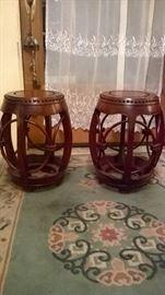 Barrel stools