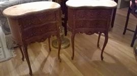 French side tables