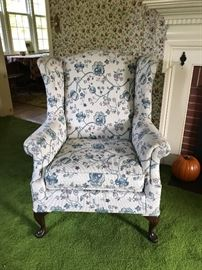 Floral Patterned Chair