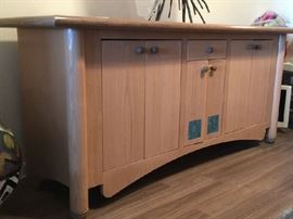 "Custom Dining Buffet by Vogue Cabinetry 74"" x 23"" x 32"" H"