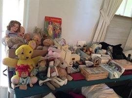 Dolls, Perfume, Bath Soap