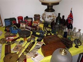 Old Tins & Bottles