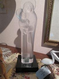 Beautiful Lalique Madonna