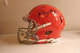 Official NFL Cleveland Browns Football Revolution Helmet autographed Phil Taylor #98. Comes with original box. Asking $130.