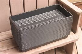 50 plant trays for seed, no holes.