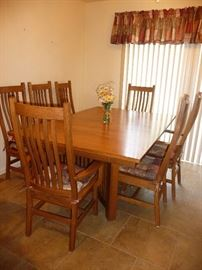Amish made Table and chairs