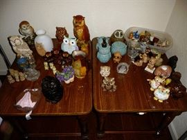 large owl collection
