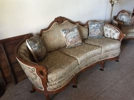 1930's(?) Victorian/Rococo Couch-perfect condition