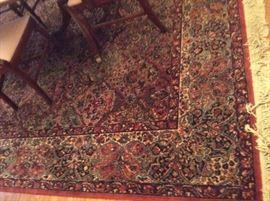 "8'8"" x 12' Karastan rug"
