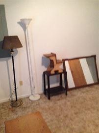 lamps & dresser mirrors